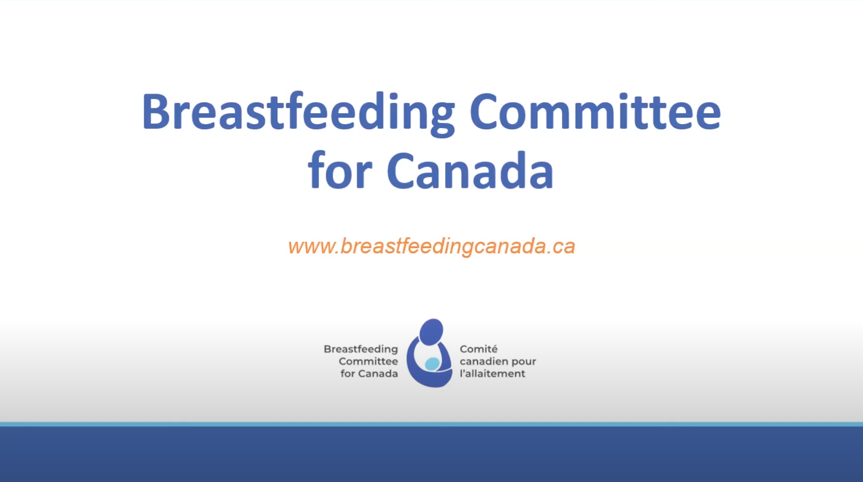 Breastfeeding Committee for Canada
